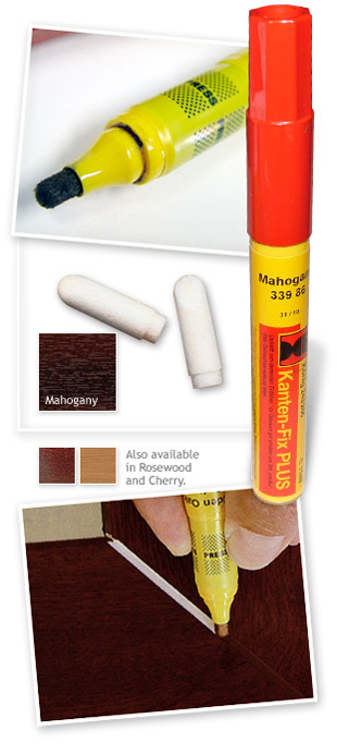 Konig Kanten-Fix PLUS Colour Edging Pen - Mahogany