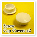 Screw Cap Covers for Sash Jammer