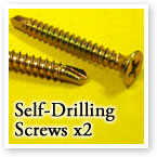 Self-Drilling Screws for Sash Jammer