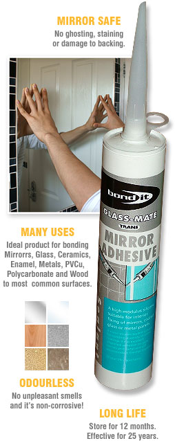 GLASS-MATE Mirror Adhesive