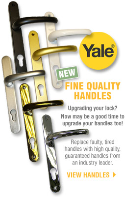 High Quality uPVC Door Handles from Yale