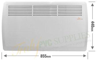 Sunburst Radiant Panel Heaterelectric Conservatory Heating