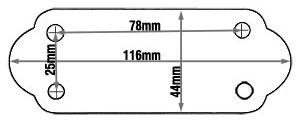 Tie Bar Lug dimensions