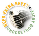 Get extra keys delivered with your order!