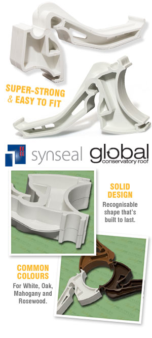 Synseal Global Conservatory Gutter Brackets
