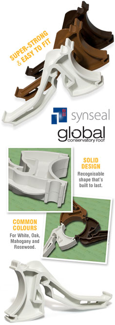 Synseal XGC5 Global Conservatory Gutter Brackets