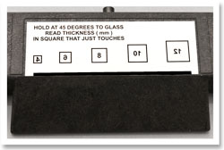 GlassGauge Professional + does measuring windows or doors