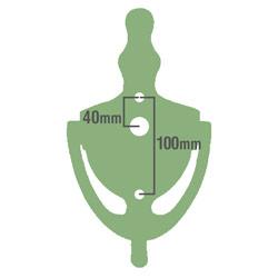 UAP Door knocker silhouette dimensions
