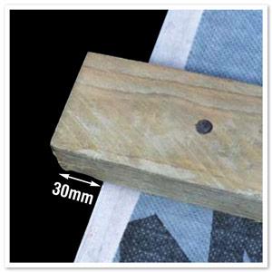 10 X Batten End Clips For Klober Dry Verge System