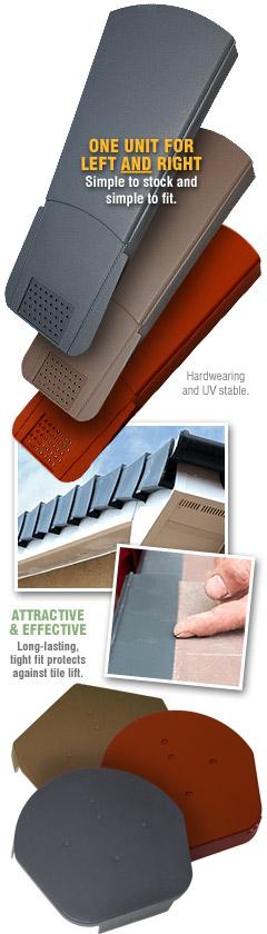 Easy Trim Easy Verge U Univeral Dry Verge System