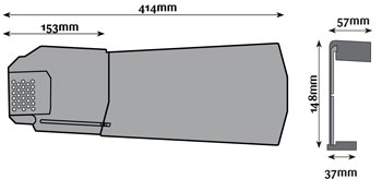 Dry Verge Unit Sizes