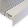 ALUKAP-XR Endstop Bar used as a gable end bar
