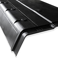 Vented Under Eaves Support Tray 2 In 1 Fascia Ventilation Amp Felt Protection Ebay