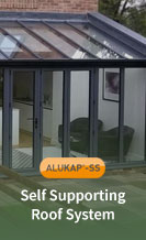 Alukap SS Self Supporting Roof System