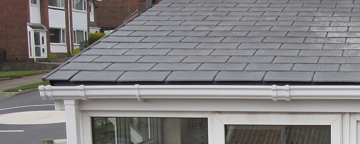 Synthetic Tile Conservatory Roof