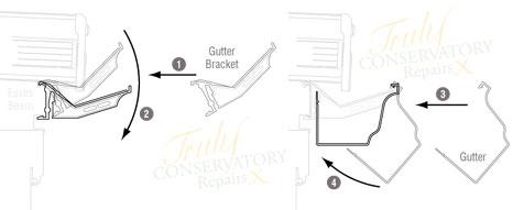K2 C8043 Conservatory Gutter Bracket (5 Pack)