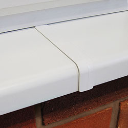 150 mm upvc window cill joint cover strip plastic. Black Bedroom Furniture Sets. Home Design Ideas