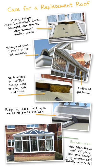 Conservatory roof replacement from Truly Conservatory Repairs